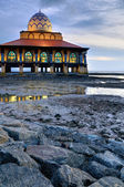 Moschea di spiaggia — Foto Stock