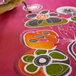 Batik painting — Stock Photo