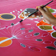 Batik painting — Stock Photo #32937251