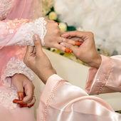 брак пара — Стоковое фото