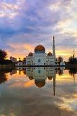 пейзаж с мечеть — Стоковое фото