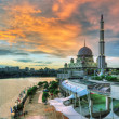 Stock Photo: Landscape of mosque
