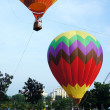 Hot air balloon event — Lizenzfreies Foto