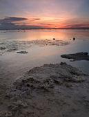 Indonesian sunset — Stock Photo