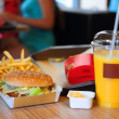 Stock Photo: Fast food