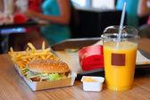 Fast food — Stock Photo