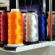 Sewing threads multicolored on spool — Stock Photo #38834413