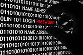 Computer security concept — Stock Photo