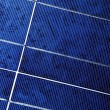 Photo voltaic panel - Stock Photo