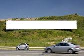 Advertising billboard blank 1 — Stock Photo