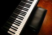 Piano music — Stock Photo