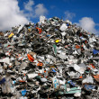 Waste mountain — Stock Photo