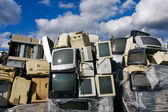 Modern electronic waste — Stock Photo