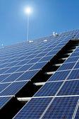 Sun Energy Farm — Stock Photo