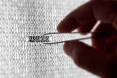 Computer Password Security — Stock Photo