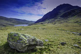 Glyderau mountains in Snowdonia North Wales — Stock Photo
