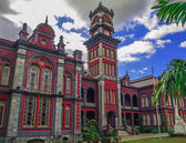 Queen's Royal College in Port of Spain Trinidad — Stock Photo