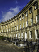 Royal Crescent in Bath Somerset — Stock Photo