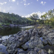 Stock Photo: Bells rapids in Western Australia