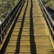 Stock Photo: Footbridge at Bells Rapids in Western Australia