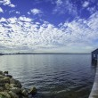 Stock Photo: Perth city on water