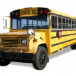 School Bus with Clipping Path — Stock Photo #23727323