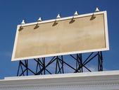 Vintage Blank Billboard — Foto de Stock