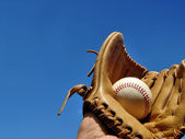 Baseball Catch — Stock Photo