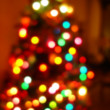 Royalty-Free Stock Photo: Christmas Tree Lights Background Blur
