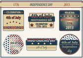 4th july - independence day — Stock Photo