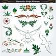 Royalty-Free Stock Imagem Vetorial: Collection of decorative design elements 15