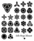 Celtic design elements — Stock Vector