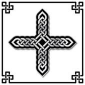 Celtic cross pattern — 图库矢量图片