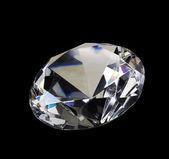 White diamond, brilliant, crystal, gem — Stock Photo
