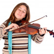 Violinist - Stock Photo