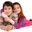 Boy and girl — Stock Photo #23644139
