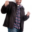 Stock Photo: Happy man