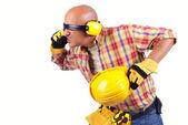 Crazy constructor — Zdjęcie stockowe
