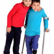 Crutches — Stock Photo #24641337