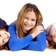 Mother with daughters — Stock Photo