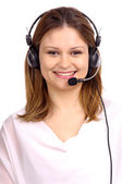 Telemarketing — Stock Photo