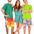 Teenage girl and boys — Stock Photo #29855605