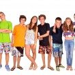 Group of teenagers — Stock Photo #30829305