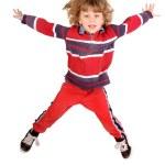 Boy jumping — Stock Photo #31579877