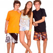 Teenage girl and boys — Stock Photo #31582359