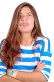 Teenage girl — Stock Photo