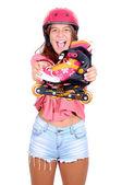 Roller skates — Stock Photo
