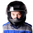 Race driver — Stock Photo
