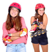 Roller skates — Foto de Stock