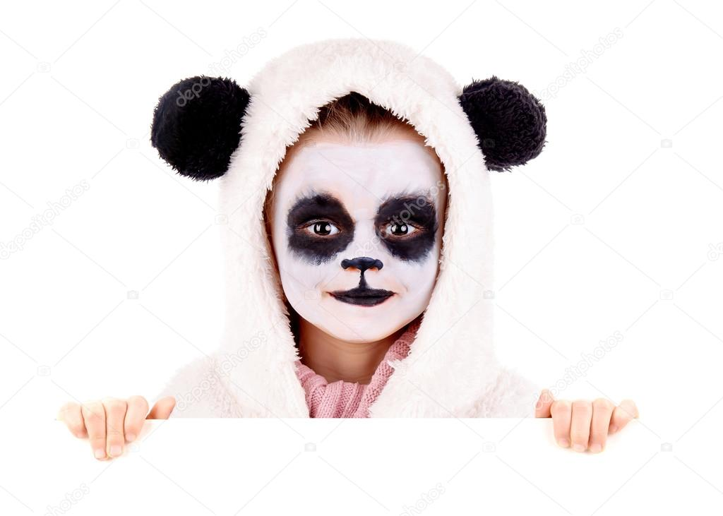 Face Painting Oso Panda